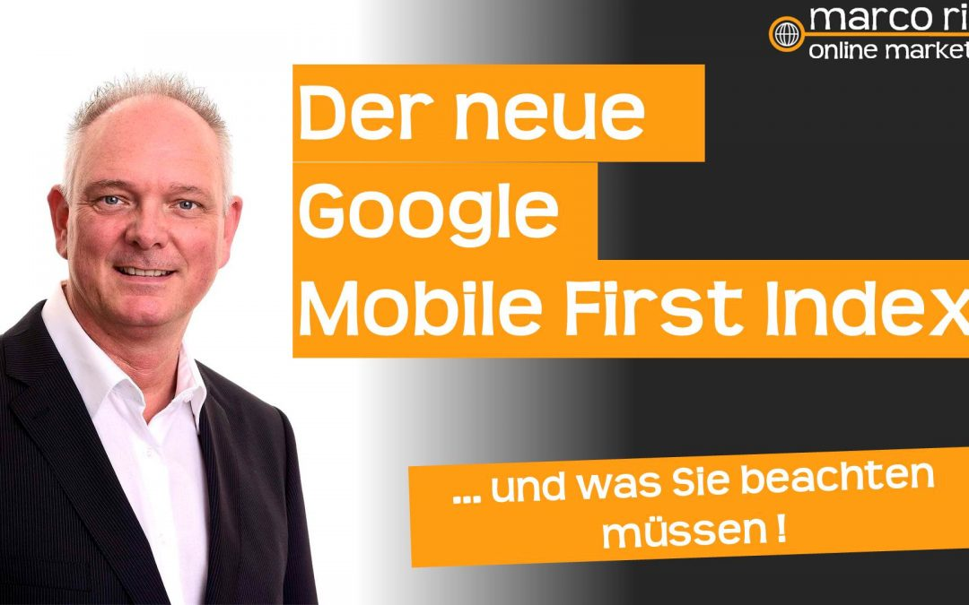 Google startet mit dem Mobile First Index