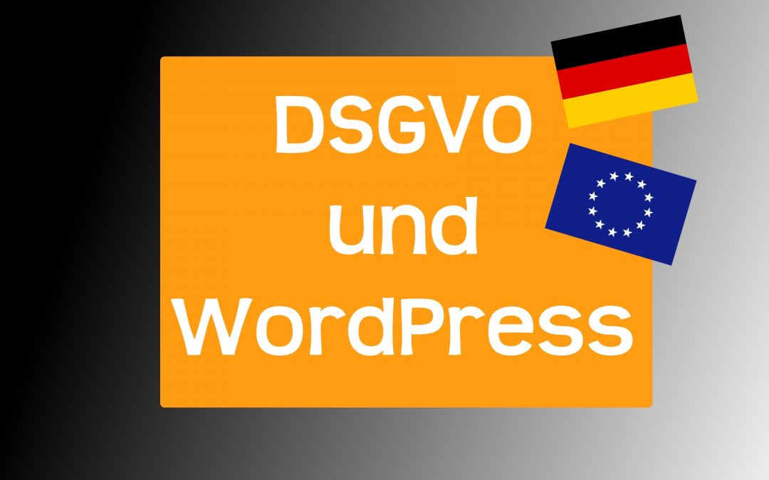DSGVO WordPress Update