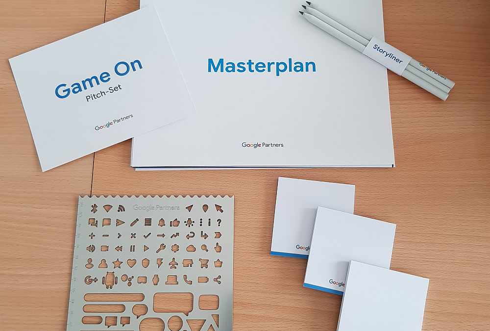 Google Partner Goodies – das Pitch-Set